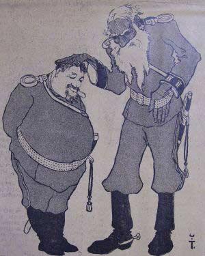 Куприн и Толстой